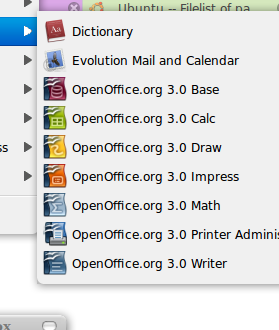 Install OpenOffice 3 di Intrepid
