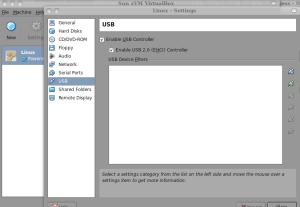 VirtualBox USB