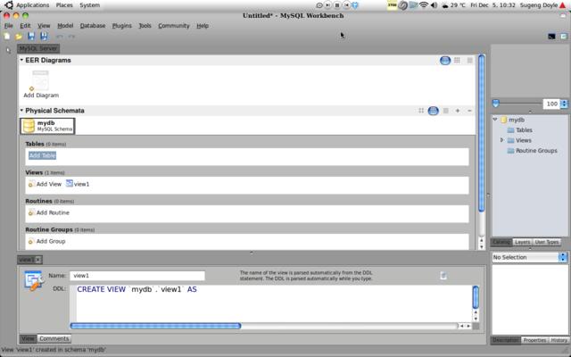 MySQL Workbench Ubuntu